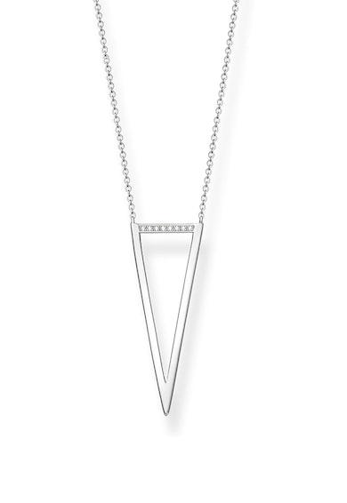Thomas Sabo Colier de argint veritabil 925 cu diamante Femei