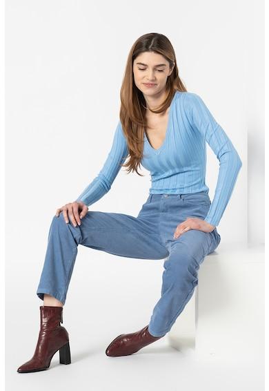 Missguided Pantaloni din reiat cu 5 buzunare Femei