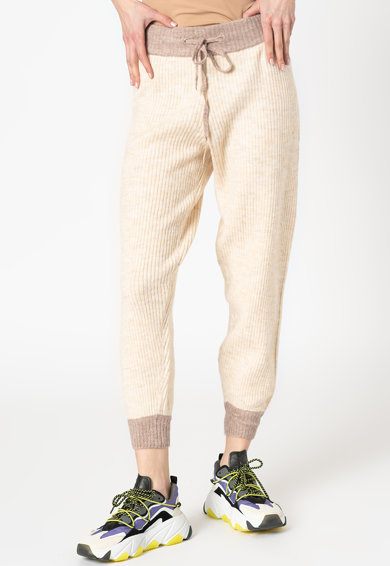 Missguided Pantaloni jogger cu aspect striat Femei