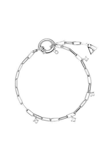 PDPAOLA Bratara de argint decorata cu cristale zirconia Femei