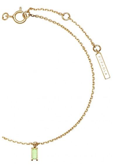 PDPAOLA Bratara de argint veritabil placata cu aur de 18K Asana Femei
