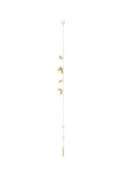 PDPAOLA Bratara de argint placata cu aur de 18K si cu talismane Femei