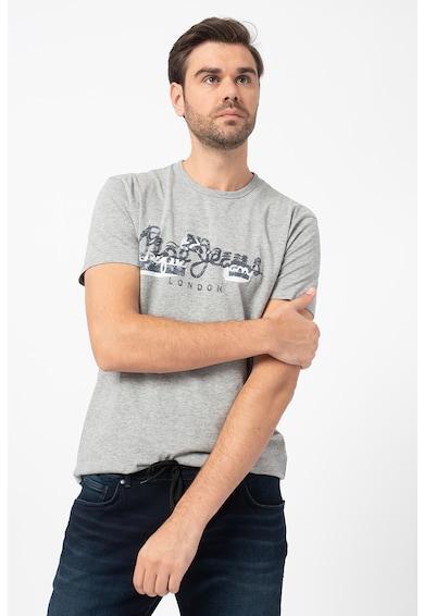 Pepe Jeans London Tricou cu imprimeu logo Salomon Barbati