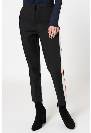 Z ONE by ZABAIONE Pantaloni crop cu dungi laterale Nadesha Femei