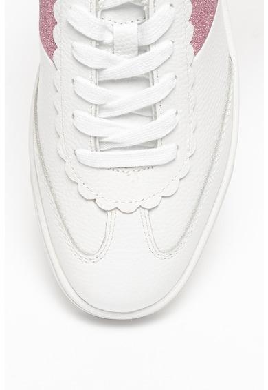 Ted Baker Pantofi sport din piele cu insertii stralucitoare Allva Femei