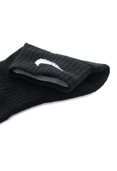 Nike Унисекс комплект чорапи Cushion Quarter - 3 чифта Жени