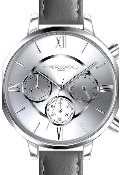Annie Rosewood Ceas cronograf cu o curea de piele Femei