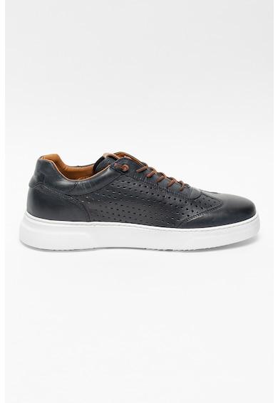 GOE Pantofi sport de piele cu perforatii Barbati