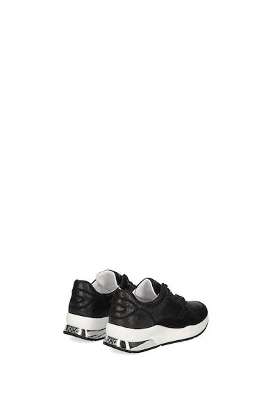 Liu Jo Pantofi sport cu aplicatii cu paiete si garnituri din piele Femei