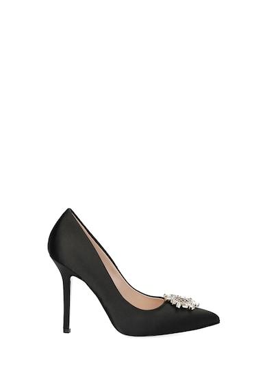 Liu Jo Pantofi din satin cu toc stiletto si logo cu strasuri Femei