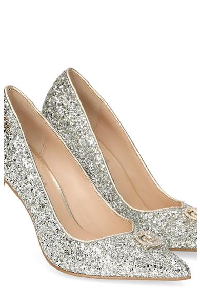 Liu Jo Pantofi stiletto cu varf ascutit si design stralucitor Femei