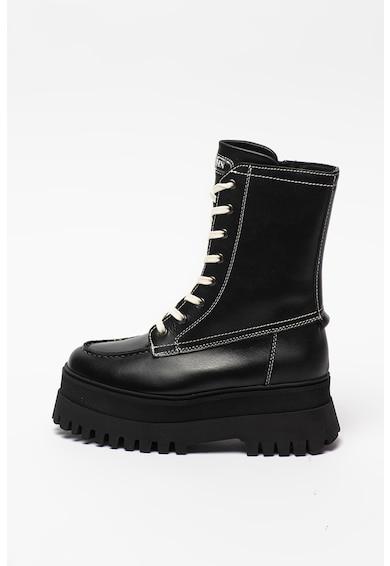 Bronx Cizme mid-calf flatform cu aspect masiv Groov-y Femei