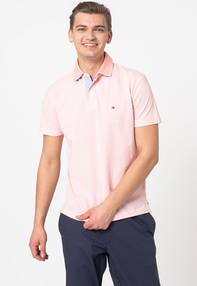 Tommy Hilfiger Tricou polo regular fit din material pique Barbati