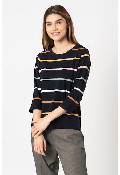 Esprit Bluza de bumbac organic in dungi Femei