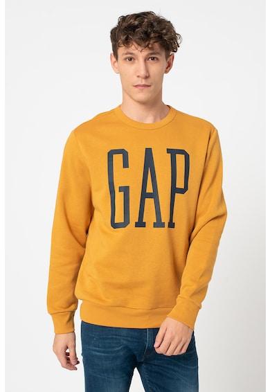 GAP Bluza sport cu decolteu la baza gatului si logo supradimensionat 000588829 Barbati
