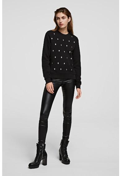 Karl Lagerfeld Bluza sport cu model logo Ikonik Karl Femei