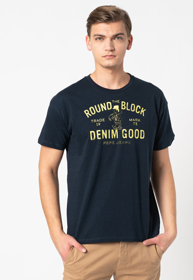 Pepe Jeans London Tricou cu imprimeu text Wang Barbati