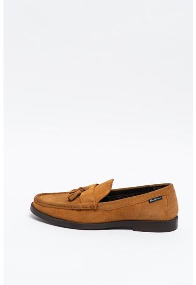 Ben Sherman Pantofi loafer de piele intoarsa Loco Barbati