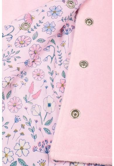 JoJo Maman Bebe Set de imbracaminte, 2 piese, fete, imprimeu floricele, Roz pastel Fete