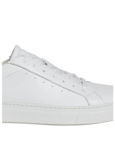 Marc O'Polo Pantofi sport de piele cu detaliu contrastant Barbati