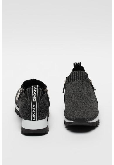 DKNY Pantofi sport tip soseta cu aspect tricotat Azza Femei
