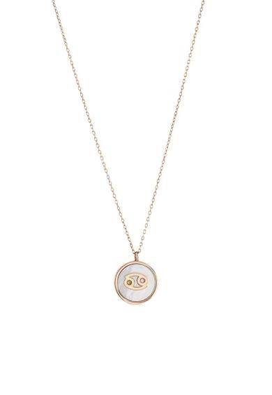 Loisir by Oxette Colier placat cu aur de 18K si decorat cu pandantiv MOP Femei