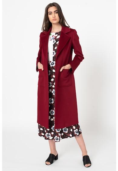 Max&Co Palton de lana cu un cordon Runaway Femei