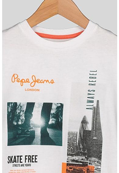 Pepe Jeans London Tricou cu imprimeu foto Cameron Baieti
