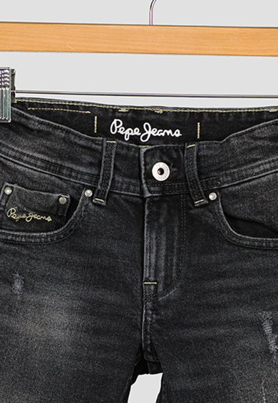 Pepe Jeans London Bermude de denim Becket Baieti