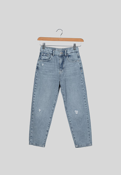 Pepe Jeans London Blugi mom fit Carla Fete