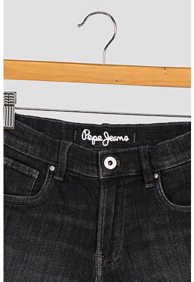 Pepe Jeans London Pantaloni scurti de denim cu aspect decolorat Fete