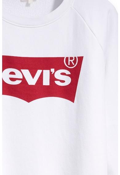 Levi's Bluza sport cu imprimeu logo si maneci raglan Femei