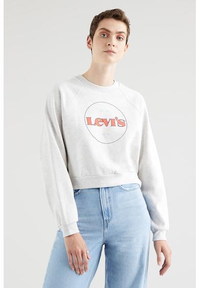 Levi's Bluza sport crop cu maneci raglan Femei