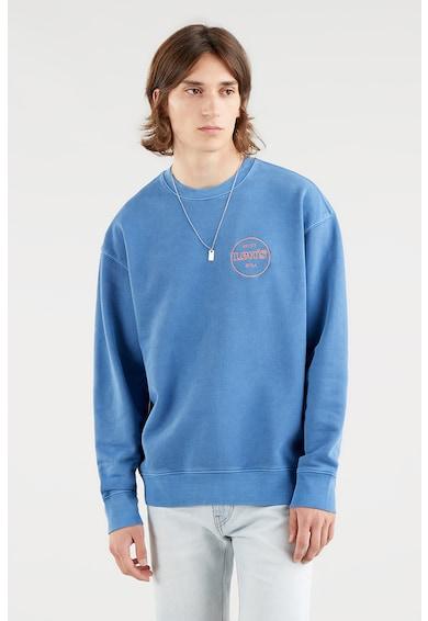 Levi's Bluza sport relaxed fit cu logo si decolteu la baza gatului Barbati