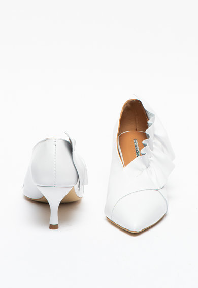 Mihaela Glavan Pantofi de piele cu volan Femei