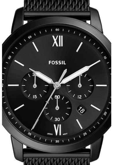 Fossil Ceas cronograf din otel inoxidabil Barbati