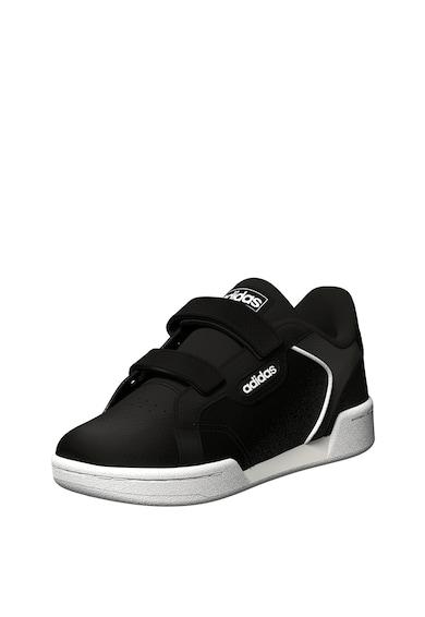 adidas Performance Pantofi sport de piele ecologica cu benzi velcro si brant moale Roguera I Fete