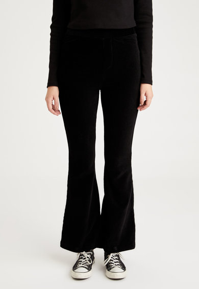 DeFacto Pantaloni evazati din reiat Femei