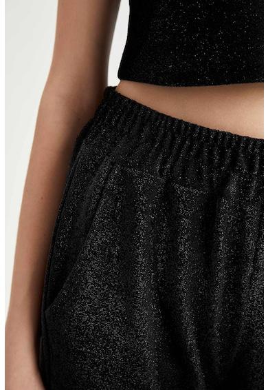 DeFacto Pantaloni jogger crop stralucitori Femei