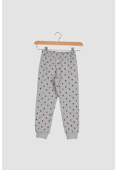Yamamay Pijama cu imprimeu cu detalii brodate Fete