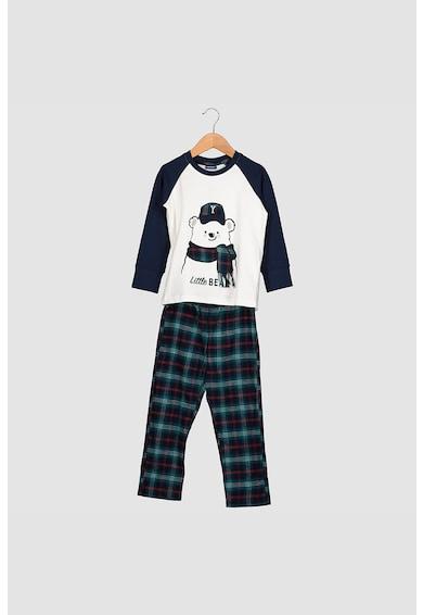 Yamamay Pijama cu segmente in carouri Fete