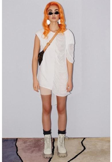 MANURÍ Rochie mini cu model asimetric Femei