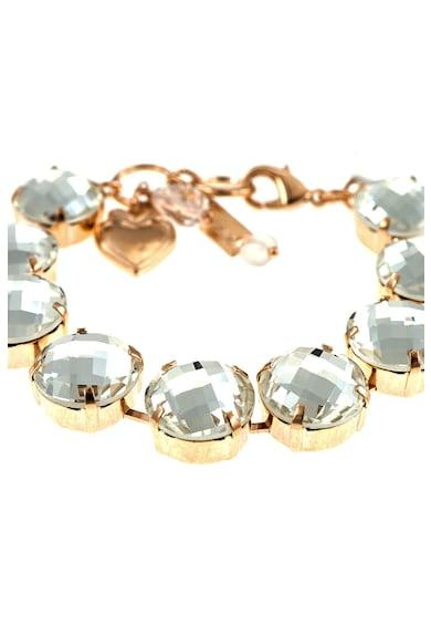 Roxannes - Mariana Jewellery Bratara placata cu aur rose de 24K si cu cristale Femei
