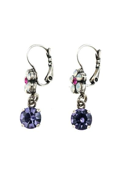 Roxannes - Mariana Jewellery Cercei placati cu argint 925 si decorati cu cristale fatetate Femei
