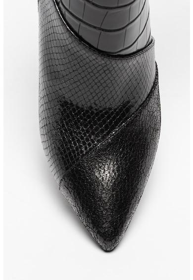Liu Jo Botine de piele ecologica cu model de piele de reptila Suzie Femei