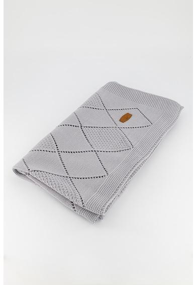 Pierre Cardin Baby Paturica tricotata cu model pointelle Fete