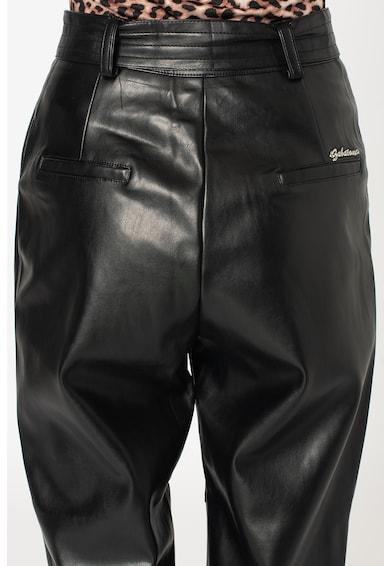 Zabaione Pantaloni de piele ecologica cu talie inalta Femei