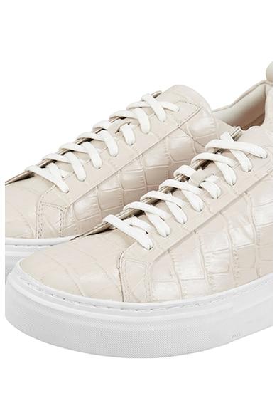 Vagabond Shoemakers Pantofi sport flatform din piele cu aspect de piele de crocodil Femei