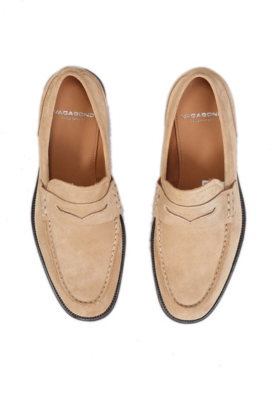 Vagabond Shoemakers Pantofi loafer de piele intoarsa Penny Barbati
