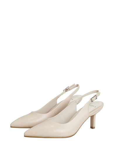 Vagabond Shoemakers Pantofi din piele cu bareta slingback si varf ascutit Femei